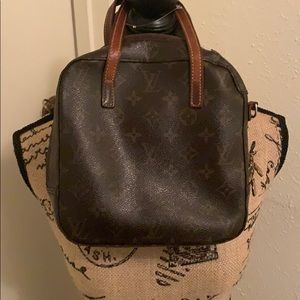 Louis Vuitton spontini 2way handbag